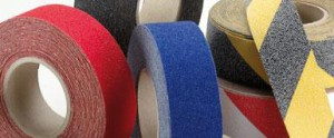 Anti-slip tapes in various colour variants