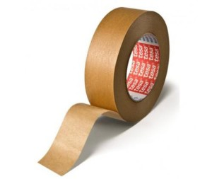Paper masking tape for high temperatures