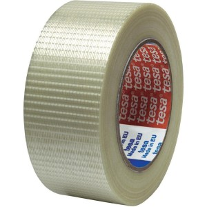 Reinforced sealing tape with fibres