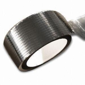 Taśma aluminiowa wzmocniona siatką