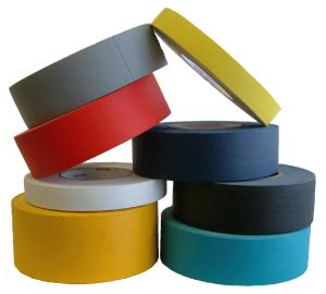 Kolorowe taśmy tkaninowe